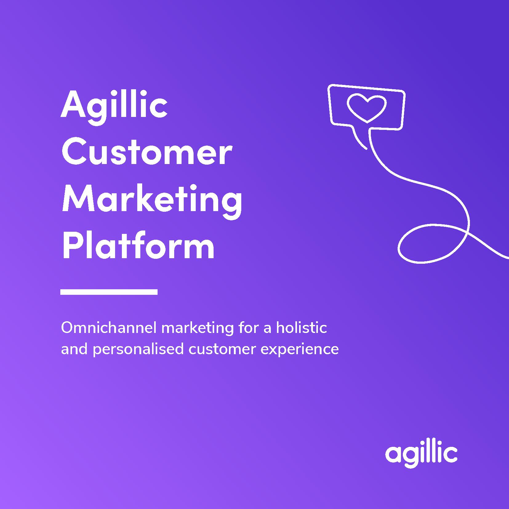 Agillic Customer Marketing Platform Brochure